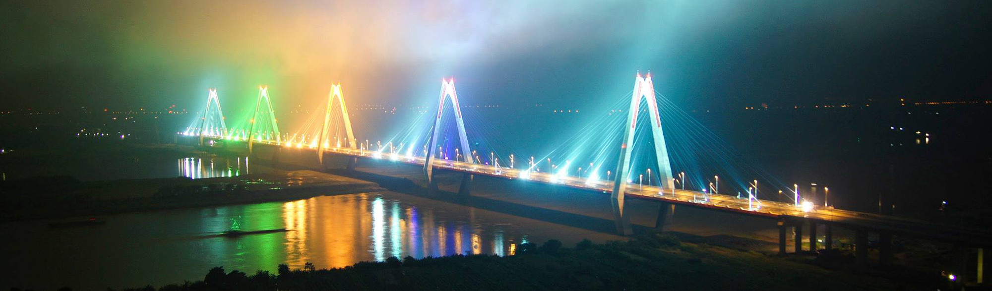 Hanoi Nhật Tân Bridge (Vietnam - Japan Friendship Bridge)
