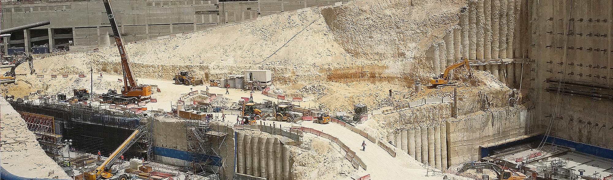 Doha Metro Msheireb Station Rebar Tunneling and Mining - Dextra